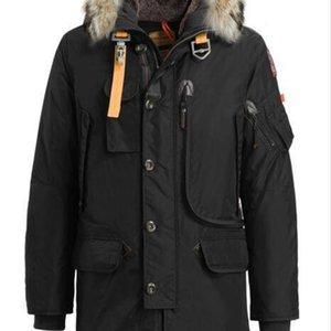 Top quality winter down coat Luxury Parajumpers men s kodiak Jacket Hoodies Fur Fashionable Winter Coats Warm Parka