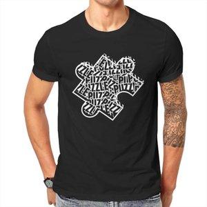 T-shirt da uomo 2021 Estate T-shirt Puzzle Jigsaw Hobby Gioco stampato Pattern Stampato O-scollo a maniche corte O-scollo di alta qualità