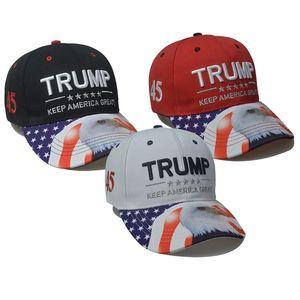2024 US Election Baseball Cap Trump Hat Outdoor Travel Men's and Women's Sun Caps Party Hats T500563