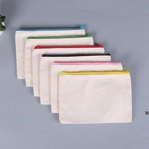 التسامي أكياس مستحضرات التجميلية فارغة قماش سستة قلم الحالات مخصصة المرأة ماكياج حقيبة الأزياء حقيبة يد الحقائب dhc7152