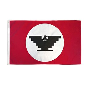 United Field Workers Union Crest Flag Vivid Color UV Fade Resistant Outdoor Double Stitched Decoration Banner 90x150cm Sports Digital Print Wholesale