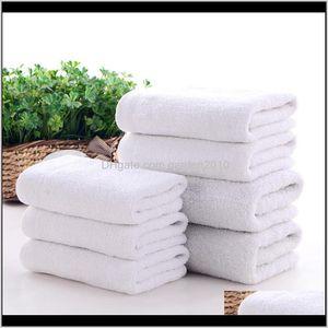 Face Small Hand Towels El Soft White Cotton Towel For Restaurant Kindergarten Rdang 8Yn6K