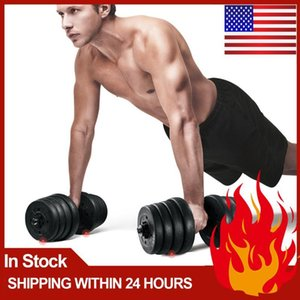 1 Pair Weight Dumbbell Set Fitness Dumbbell Detachable Dumbbells For Body Workout (30kg) Gym Arm Muscle Trainer Exercise