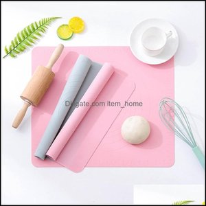 Bakeware Kitchen, Dining Bar Home Gardensile Mat Baking Cake Dough Fondant Rolling Kneading With Scale Cooking Plate Kitchen Tools Pins & Pa