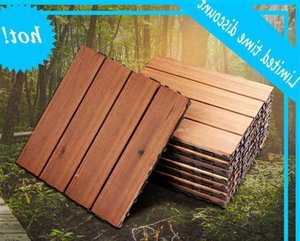 32 36 40 44 48 pieces Outdoor carpet, Floor decking,Carbonized wood