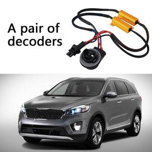 Other Lighting System 1pcs 12V 3157B LED Headlight Resistor Kit Without Error Warning Eliminator Decoder Car Accessories