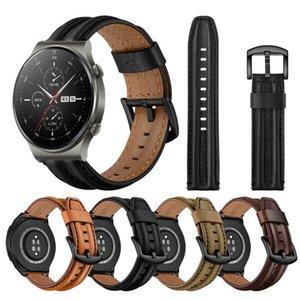 EasyFit Deri Kayış için Huawei İzle GT 2 Pro Bant Sapanlar 2e GT2 46mm Watchband Bilezik Aksesuarları Bantları