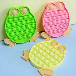 15CM Frog Bubble Poppers Board Mega Jumbo Sensory Fidget Toys Push Puzzle Kids Adult Finger Fun Desktop Toy Stress Relief Gobang G4OMGR3