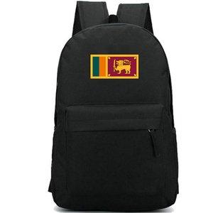 Lka backpack سري لانكا البلد العلم يوم حزمة كولومبو راية حقيبة مدرسية عارضة packsack جيد حقيبة الظهر الرياضة المدرسية في الهواء الطلق daypack
