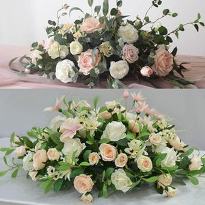 Decorative Flowers & Wreaths El Restaurant Tabletop Flower Decoration, Wedding Table Flower, Welcome Area, Office Conference, Sign In Decora