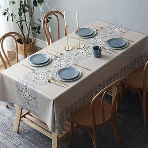 Table Flag, Tablecloth, Waterproof, Oil Proof, Wash Free Rectangular Tea Cloth