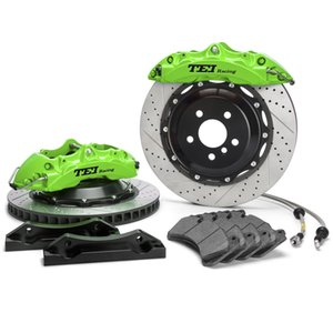 Front Big Brake Kit 355x32MM Rotor Green Caliper For Mercedes-Benz E200 E250 E300 E350 E400 E450 E500 E550