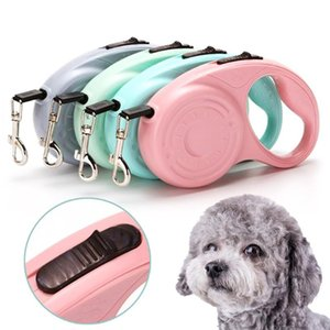 Dog Collars & Leashes 5M 3M Leash Durable Automatic Retractable Walking Running Leads Cat Extending Dogs Pet Products