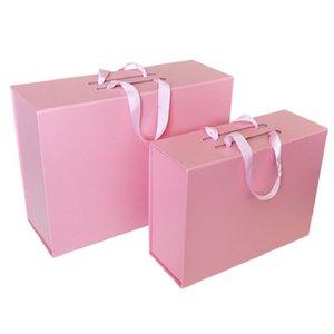 بيع قابلة للطي هدية المحمولة التفاف العطور الزهور مربع الهدايا الزفاف تفضل حالة ورقة العروسة