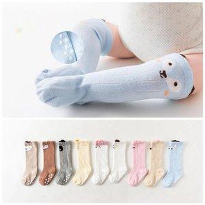 Baby Socks Cartoon Fox Toddler Animal Infant Sock Anti Slip Cotton Footsocks Knee High Newborn Warm Footwear 9 Designs WLL717