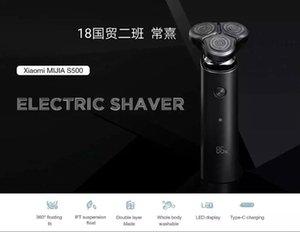 Xiaomi Mijia Shaver Electric S500 3 Head Flex Razor Seco Weave Shaving Barba portátil Lavable Trimmer Cara Limpieza