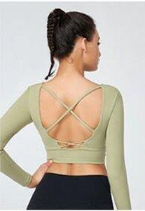 1178 Spor Bras Kadınlar için Yoga Takım Elbise Üst Kadın Fitness Spor Salonu Sutyen Hollow Nefes Seksi