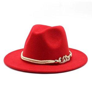 أزياء فيدورا الرجال النساء الجاز قبعة الصيف الربيع في الهواء الطلق عارضة الصوف مزيج كاب الأوروبي الأمريكية جولة قبعات القبعات الرامي