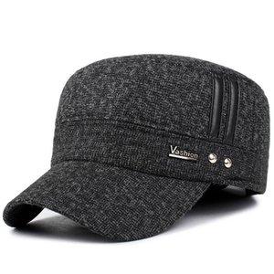 2020 Gölge Voron 2021 Avrupa Kış Yeni erkek Pamuk Şapka Moda Erkekler Ve Kadınlar Sonbahar Ve Kış Beyzbol Şapkası Ayarlanabilir Elastik Kulak