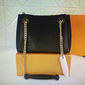 Surene BB Totes Luxurys 디자이너 핸드백 골드 슬라이딩 체인 지갑 패션 캐주얼 토트 올드 플라워 호보 핸드백 여성 어깨 가방 M43776 M43777 M43775