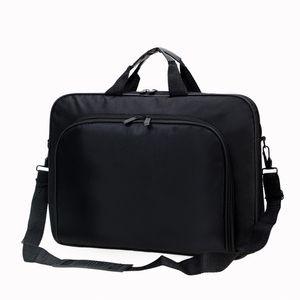 2021 Men Messenger Bag Black Nylon Cloth Waterproof Male Business Shoulder Crossbody Bags For 12 14 15 inch Laptop Bag men