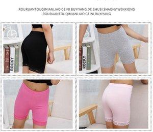 2020 Baby Kids Dress Safety Panties Underwear Children Modal Shorts Girls Safety Pants Lace Short Tights Leggings Anti-alight Shorts E3303