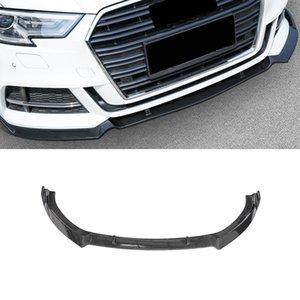 Для Audi A3 8V 2017 2018 2019 Аксессуары для автомобилей Передняя губа подбородок для подбородки для губ Bumper Deflector Spoiler Splitter диффузор наружные украшения