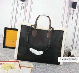 OntheGo Teddy Totes Bolsas Neonoe Luxury Designer Bags Duplex Impressão Sacos de compras Speedy 30 M56963 M56966 M56960 M56958
