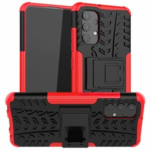 Cell Phone Cases Sticker Stand Rugged Combo Hybrid Armor Bracket Impact Holster Cover For Samsung Galaxy A32 4G