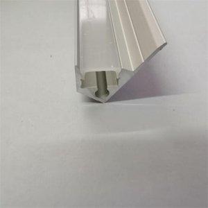 Bar Lights YANGMIN 10M LOT Led Aluminium Profile For Light, 45 Degree Corner Aluminum Channel, 8mm Strip Housing Light
