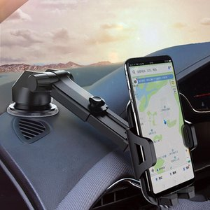 Cell Phone Mounts & Holders ZUIDID Car Mobile Holder Stand Universal Long Arm Support For Accessories