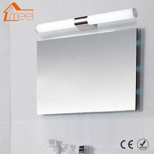 Wall Lamps Modern LED Lamp 12W 16W 22W Mirror Light 85-265V Acrylic Tube Bathroom Makeup Lighting