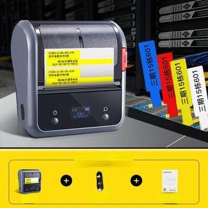 Printers NIIMBOT B3S Wireless Cable Label Printer Network Fiber Tail Hand-held Portable Mini Self-adhesive Labeling Machine.