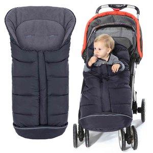 Designer Luxuoso carrinho de bebê bebê saco de dormir à prova de neve Extrato nascido envelope no casulo infantil morno para crianças do sono crianças