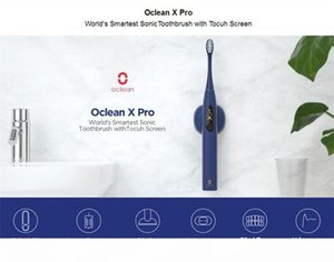 Youpin Oclean X Pro Sonic Electric Toothbrush Adult IPX7 Ultrasonic Automatic Fast Charging Tooth Brush With Touch Screen
