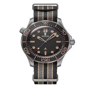 Керамические BEZEL MENS Часы Мода Механическое автоматическое движение привод 300M 007 James Bond Master Master NTO Designer Наручные часы