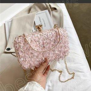 المصدمات الفاخرة أعلى جودة السيدات 2021 أكياس إبطالية حقيبة يد النساء الأزياء cossbody الماس حقائب الهاتف المحمول محفظة الإبط محفظة المتشرد حقائب الكتف حقيبة