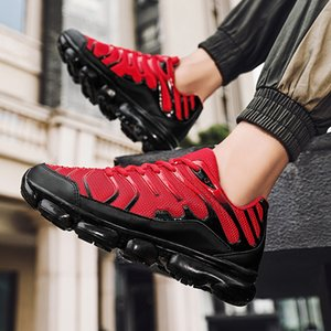 Hommes Courir Chaussures Casual Mesk Sneakers Sport en plein air Coussin respirant Coussin Jogging Chaussure Confortable Chaussure Homme