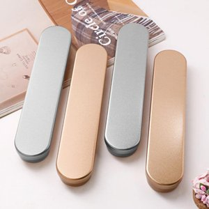 Pencil Cases Silver And Gold Gift Iron Box For Pen Case Engravable Customizable Logo