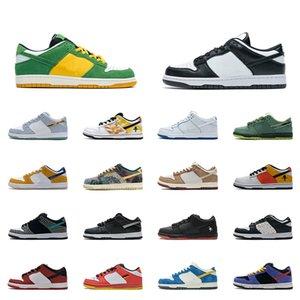 SB 신발 숀 클리버 스타 스파르타 넵튠 녹색 스니커즈 꼬리 엔드 스트리트 호커 블랙 화이트 낮은 스케이트 보드 남성 Womens Jackboys Raygun Samba 레이저 오렌지 트레이너