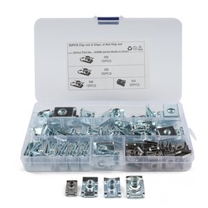 M4 M5 M6 M8 SPIRE CLIPS CHIMNEY NUTS U NUTS SPEED CLIPS FASTENERS ASSORTED kits
