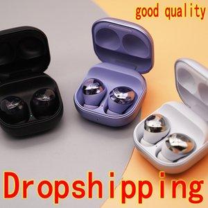 2021 TWS R190 Tomurcukları Pro Kulakiçi Bluetooth 5.0 Kulaklık Ile Kablosuz Şarj Kulaklıklar 9D Stereo Kulaklık Kulaklık Kulaklık DHL Dropshipping En Kaliteli