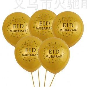 EID Mubarak Balloons Happy Eid Balloons Balloons Islamici Capodanno Decor Happy Ramadan Musulmano Festival Decorazione Forniture Home Outdoor SN4450 617 R2