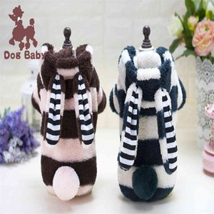 Dogs Clothes Dog Apparel Custom Made Autumn Winter Pet Clothing Cat Big Ear Rabbit Fur Coat