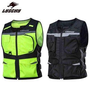 Reflective Waistcoat Clothing Motocross Waterproof Vest Motorcycle Night Riding High Visibilit Safety Jacket