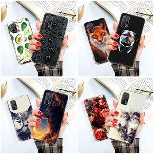 Caso TPU Soft OPPO C3 Silicona DIY Pintado Teléfono Realme 6 a 7 x 7 Narzo 20 X3 Superzoom 6i Cubiertas Coca