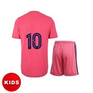 RM kids clothes soccer jersey football shirt 20 21 away HAZARD SERGIO RAMOS BENZEMA ASENSIO camiseta 2021 custom name HUMANRACE baby chothes
