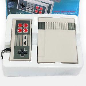 المحمولة لعبة اللاعبين الكلاسيكية مصغرة التلفزيون وحدة الرجعية 8 بت مع 620 ألعاب مختلفة في ألعاب مزدوجة gamepads السفينة بسرعة