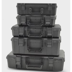 Protective 520x335x130mm Safety Instrument Abs Toolbox Equipment Outdoor Storage Case Box Pla