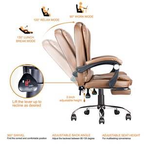 Ergonomic Executive Office Swivel Chair Commercial Furniture Computer Gaming Chairs High Back Adjustable Height and Angle